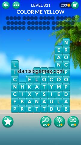 Word stacks level 831