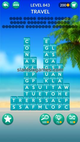 Word stacks level 843