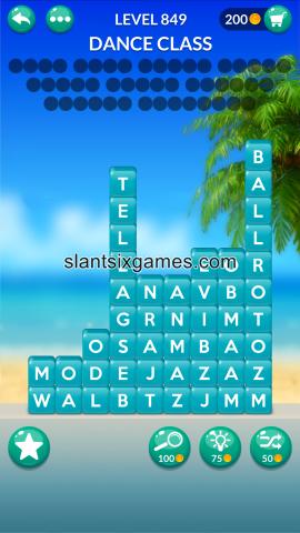 Word stacks level 849