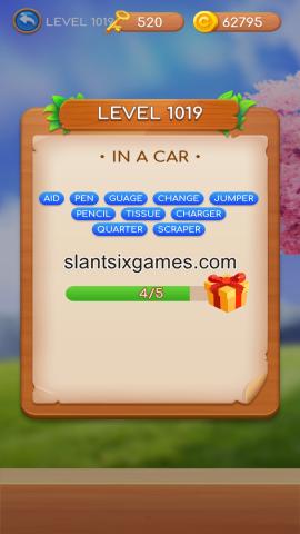 Word swipe level 1019