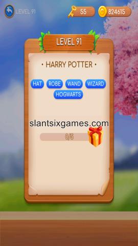 Word swipe level 91