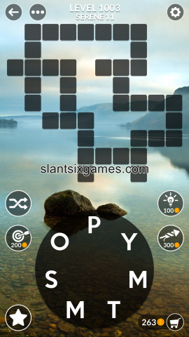 Wordscapes level 1003