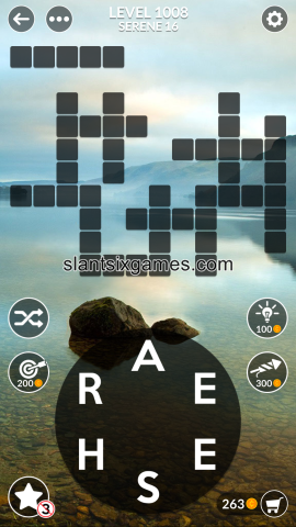 Wordscapes level 1008