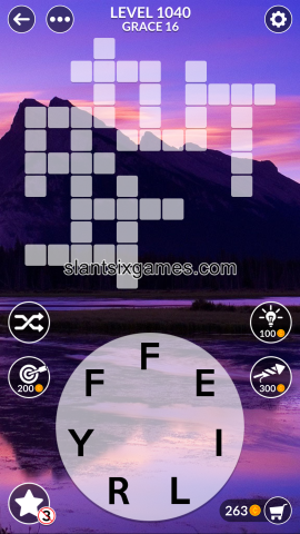 Wordscapes level 1040