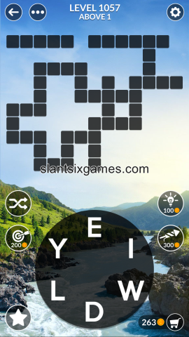 Wordscapes level 1057