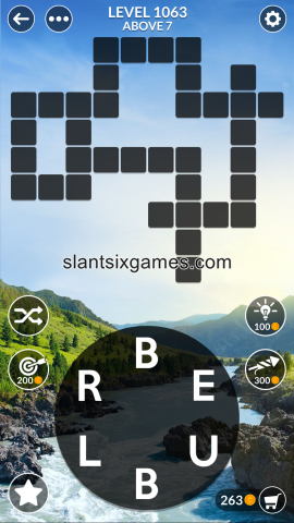 Wordscapes level 1063