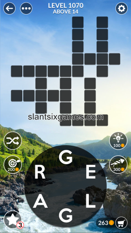 Wordscapes level 1070