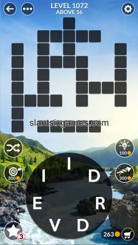 Wordscapes level 1072