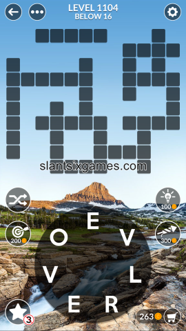 Wordscapes level 1104