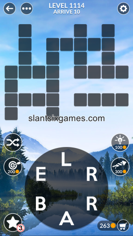 Wordscapes level 1114