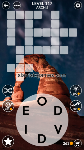 Wordscapes level 117