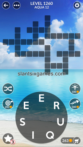 Wordscapes level 1260