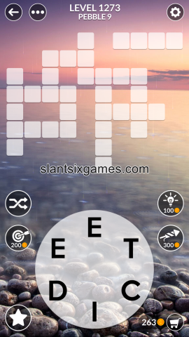 Wordscapes level 1273