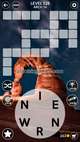 Wordscapes level 128