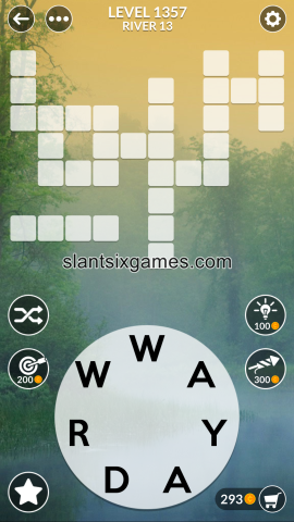 Wordscapes level 1357