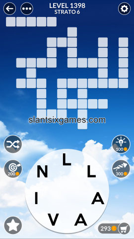 Wordscapes level 1398