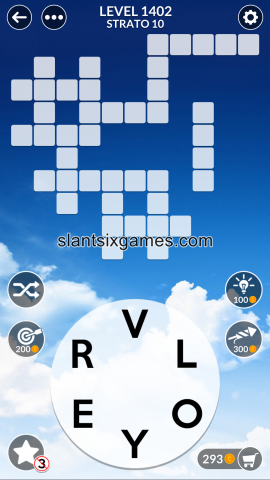 Wordscapes level 1402