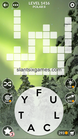 Wordscapes level 1416