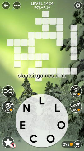 Wordscapes level 1424