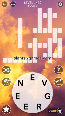 Wordscapes level 1432
