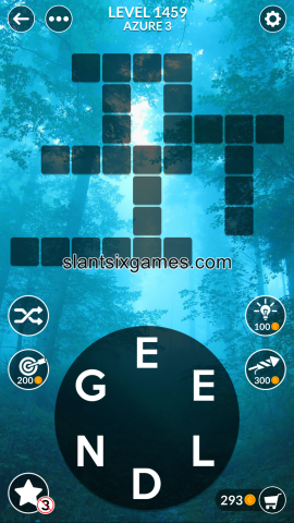 Wordscapes level 1459