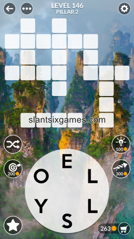Wordscapes level 146