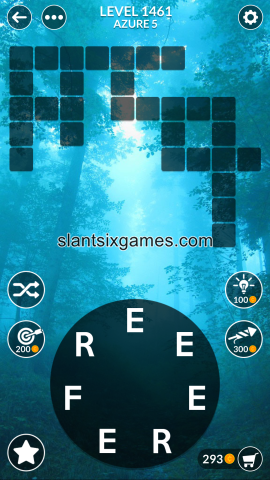 Wordscapes level 1461