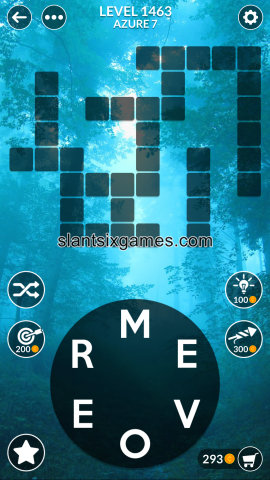 Wordscapes level 1463