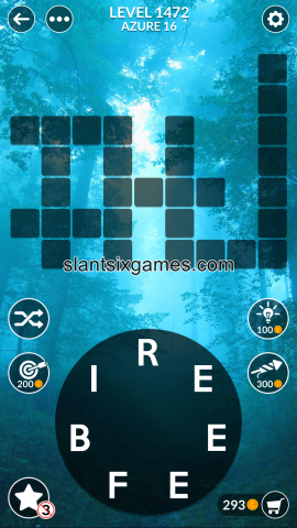 Wordscapes level 1472