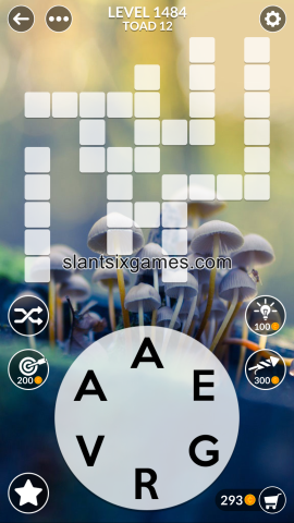 Wordscapes level 1484