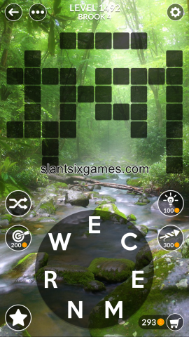 Wordscapes level 1492