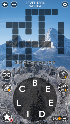 Wordscapes level 1604