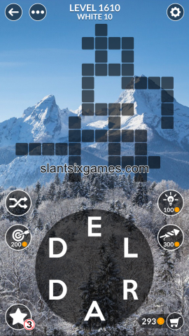 Wordscapes level 1610