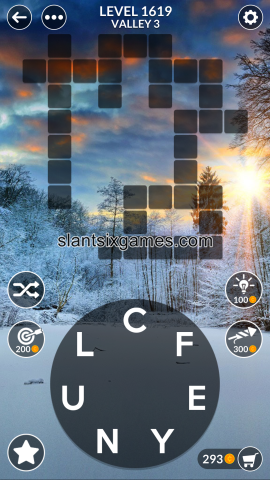 Wordscapes level 1619