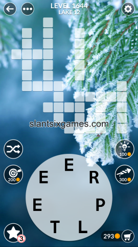 Wordscapes level 1644