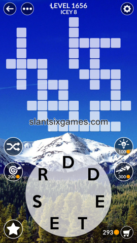 Wordscapes level 1656