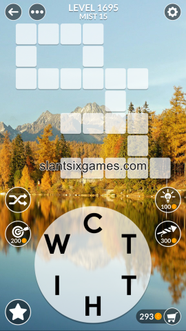 Wordscapes level 1695