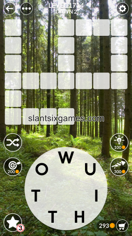 Wordscapes level 1714