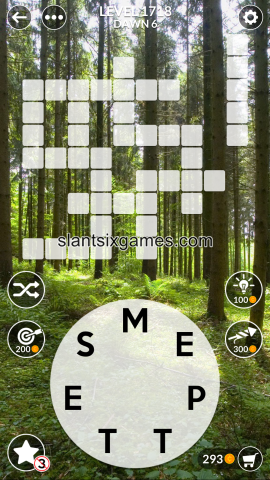 Wordscapes level 1718