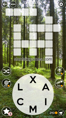 Wordscapes level 1727
