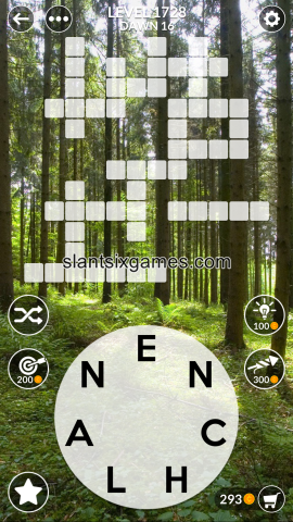 Wordscapes level 1728