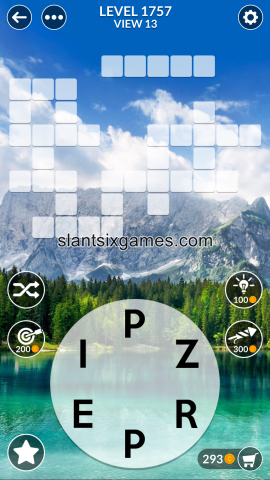 Wordscapes level 1757