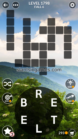 Wordscapes level 1798