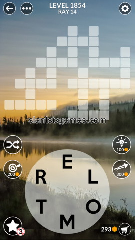 Wordscapes level 1854