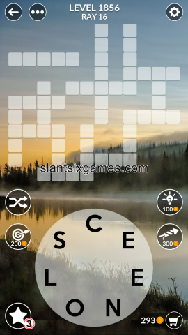 Wordscapes level 1856