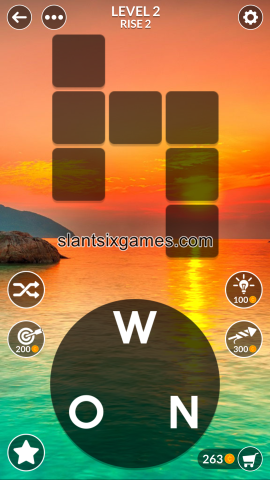 Wordscapes level 2