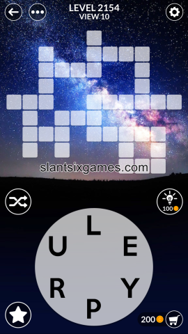 Wordscapes level 2154