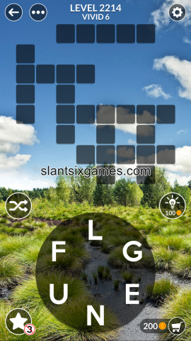 Wordscapes level 2214