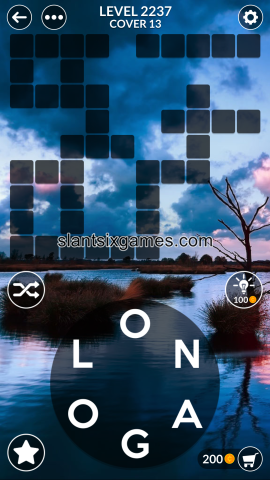 Wordscapes level 2237