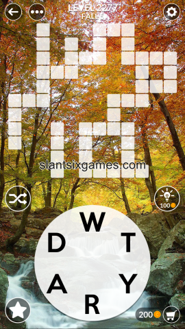 Wordscapes level 2277